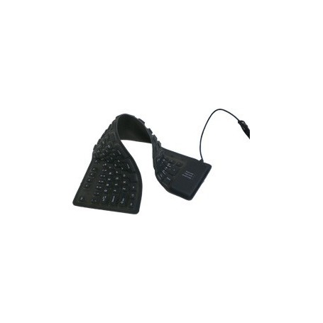 NedRo - Full-Size Flexible USB or PS2 keyboard - Various computer accessories - YPM003-CB www.NedRo.us
