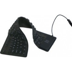 NedRo - Full-Size Flexible USB or PS2 keyboard - Various computer accessories - YPM003-CB