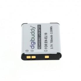 digibuddy - Battery for Nikon EN-EL19 / Sony NP-BJ1 700mAh - Nikon photo-video batteries - ON2682 www.NedRo.us