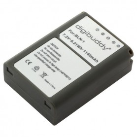 digibuddy - Battery for Olympus BLN-1 1140mAh - Olympus photo-video batteries - ON2685 www.NedRo.us