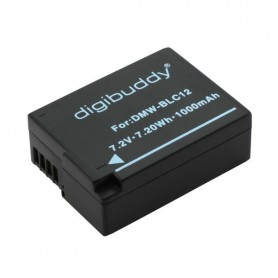 OTB, Battery for Panasonic DMW-BLC12 1000mAh, Panasonic photo-video batteries, ON2692, EtronixCenter.com