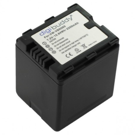OTB - Battery for Panasonic VW-VBN260 Li-Ion 2100mAh ON2696 - Panasonic photo-video batteries - ON2696