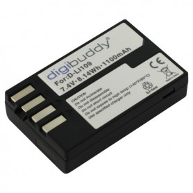 digibuddy - Battery for Pentax D-Li109 2100mAh ON2697 - Pentax photo-video batteries - ON2697