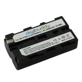 digibuddy - Battery for Sony NP-F550 2600mAh - Sony photo-video batteries - ON2705 www.NedRo.us