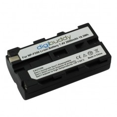 digibuddy - Battery for Sony NP-F550 2600mAh - Sony photo-video batteries - ON2705
