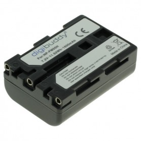 digibuddy - Battery for Sony NP-FM55H / NP-QM51 1600mAh ON2708 - Sony photo-video batteries - ON2708 www.NedRo.us