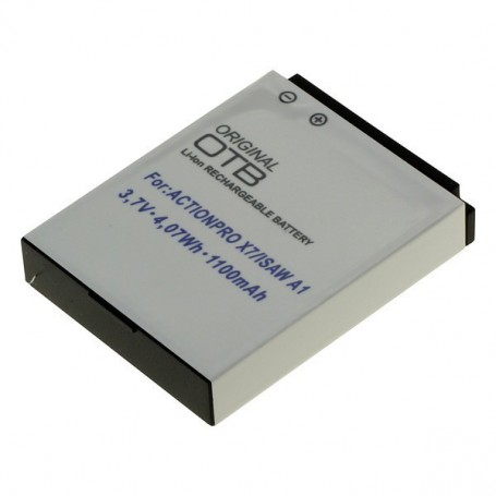 OTB - Battery for Actionpro X7 Isaw A1/A2Ace/A3/ Extreme ON2710 - Other photo-video batteries - ON2710