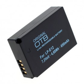 OTB, Battery for Canon LP-E12- 650mAh ON2720, Canon photo-video batteries, ON2720