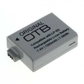 OTB, Battery for Canon LP-E5 1020mAh ON2721, Canon photo-video batteries, ON2721