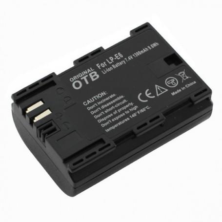 OTB - Battery for Canon LP-E6 / LP-E6N 1300mAh 7.4V - Canon photo-video batteries - ON2722