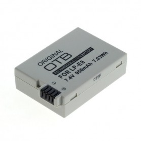OTB, Battery for Canon LP-E8 950mAh ON2723, Canon photo-video batteries, ON2723
