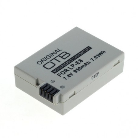 OTB - Battery for Canon LP-E8 950mAh ON2723 - Canon photo-video batteries - ON2723