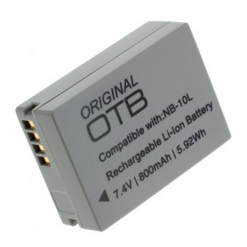 OTB - Battery for Canon NB-10L 800mAh ON2724 - Canon photo-video batteries - ON2724 www.NedRo.us