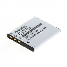 OTB, Battery for Casio NP-120 600mAh, Casio photo-video batteries, ON2732