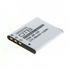 Battery for Casio NP-120 600mAh
