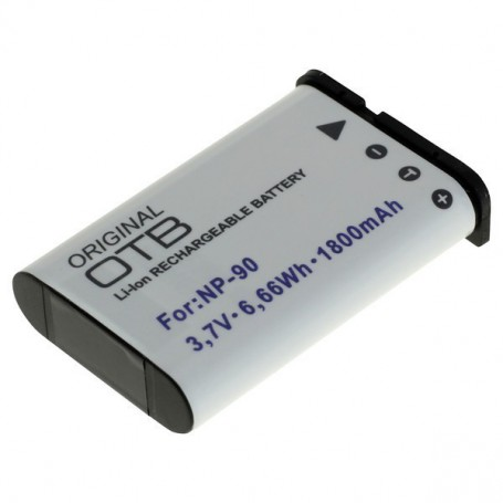 OTB - Battery for Casio NP-90 1800mAh ON2734 - Casio photo-video batteries - ON2734