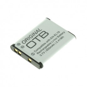 OTB - Battery for Nikon EN-EL19 / Sony NP-BJ1 650mAh - Nikon photo-video batteries - ON2746