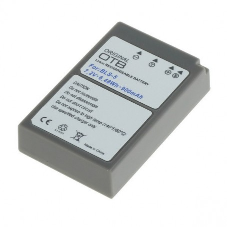 OTB - Battery for Olympus BLS-5 / BLS-50 ON2751 - Olympus photo-video batteries - ON2751