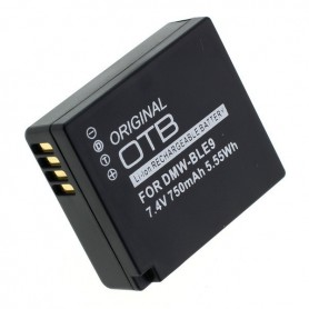 OTB, Battery for Panasonic DMW-BLG10 / DMW-BLE9, Panasonic photo-video batteries, ON2766, EtronixCenter.com
