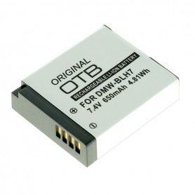 OTB - Battery for Panasonic DMW-BLH7 650mAh - Panasonic photo-video batteries - ON2767 www.NedRo.us