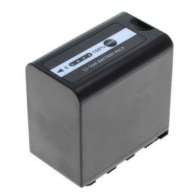 OTB - Battery compatible with Panasonic VW-VBD78 Li-Ion with battery level indicator - Panasonic photo-video batteries - ON27...