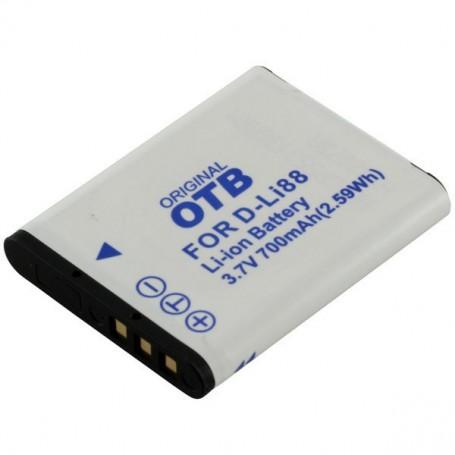 OTB - Battery for Pentax D-Li88 / Sanyo DB-L80 ON2779 - Pentax photo-video batteries - ON2779 www.NedRo.us