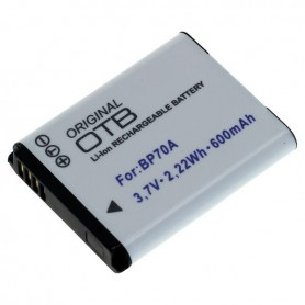OTB - Battery for Samsung EA-BP70A 600mAh - Samsung photo-video batteries - ON2789 www.NedRo.us