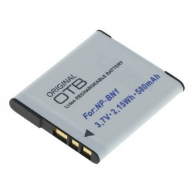 OTB - Battery for Sony NP-BN1 580mAh - Sony photo-video batteries - ON2798 www.NedRo.us