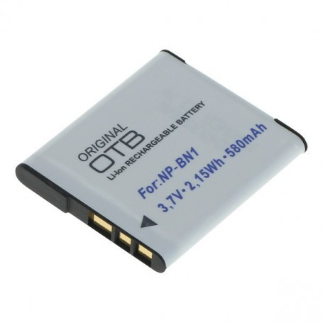 OTB - Battery for Sony NP-BN1 580mAh - Sony photo-video batteries - ON2798