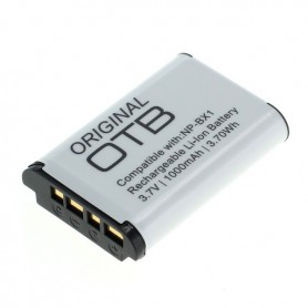 OTB - Battery for Sony NP-BX1 1000mAh - Sony photo-video batteries - ON2799 www.NedRo.us