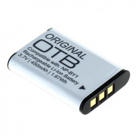 OTB, Battery for Sony NP-BY1 450mAh ON2800, Sony photo-video batteries, ON2800, EtronixCenter.com
