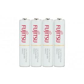 Fujitsu - Fujitsu AAA R3 HR-4UTC 800mAh Rechargeable Batteries - Size AAA - NK028-CB www.NedRo.us