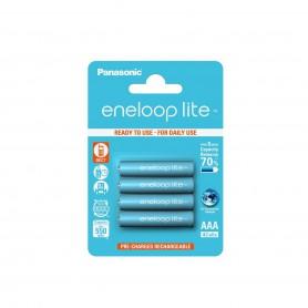 Eneloop, AAA R3 Panasonic Eneloop Lite 550mAh 1.2V Rechargeable Battery, Size AAA, NK035-CB, EtronixCenter.com