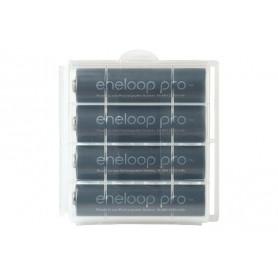 Eneloop - AA HR6 Panasonic Eneloop PRO 2550mAh 1.2V Rechargeable Battery - Size AA - NK060-CB www.NedRo.us