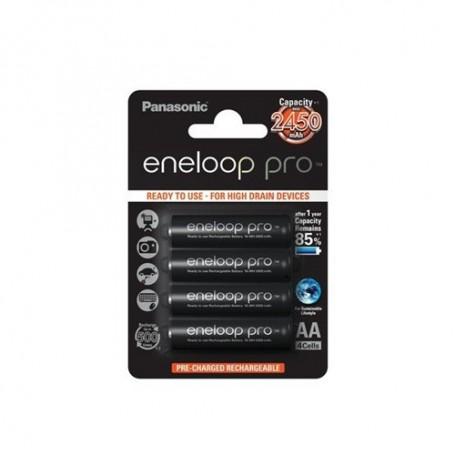 Eneloop - Panasonic eneloop Pro AA R6 2550mAh 1.2V Rechargeable Battery - Size AA - ON1315-CB