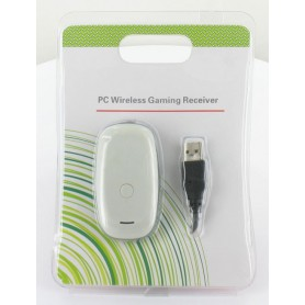 XBOX360 Controllers PC Wireless Gaming Receiver White YGX567