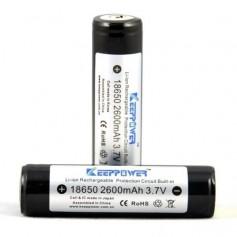 KeepPower 18650 2600mAh rechargeable battery