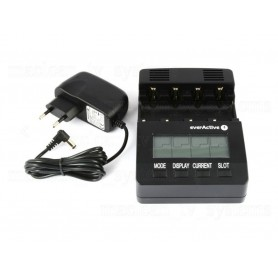 EverActive - EverActive Professional Charger NC-3000 (EU Plug) - Battery chargers - BL136