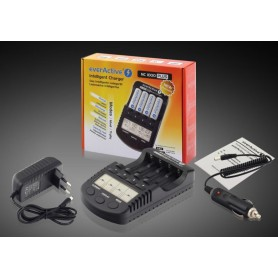 EverActive, EverActive NC-1000 PLUS Professional Charger (EU Plug) BL138, Battery chargers, BL138