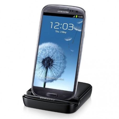 Samsung - Stand and Battery Charger compatible with Samsung Galaxy S III I9300 - Ac charger - NK996