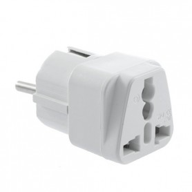 Unbranded - US AU UK to EU Universal Travel Power Adapter AL478 - Plugs and Adapters - AL478 www.NedRo.us