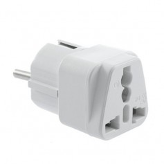 unbranded, US AU UK to EU Universal travel adapter converter, Plugs and Adapters, AL478