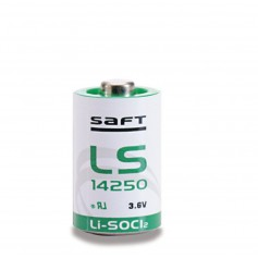 SAFT LS14250 / 1/2AA lithium battery 3.6V
