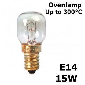 Calex, Ovenlamp 240V 15W E14 300 C T22 CA058, E14, CA058, EtronixCenter.com