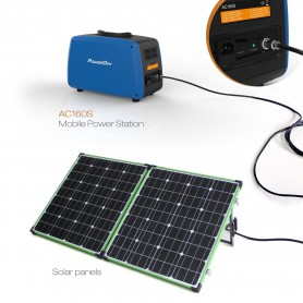 PowerOak, PowerOak PS10B 1.500Wh PowerBank energy AC/Solar system, Powerbanks, PS10B, EtronixCenter.com