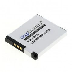 Battery for Canon NB-11L 600mAh