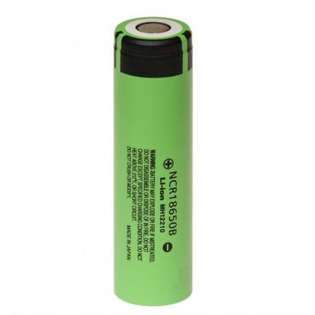 Panasonic - Panasonic 3350mAh NCR18650B 3.7V 6.7A battery - Size 18650 - NK090-CB