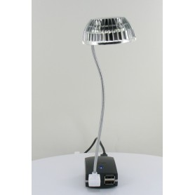 NedRo, USB Mini LED light Silver 05077, Computer gadgets, 05077, EtronixCenter.com