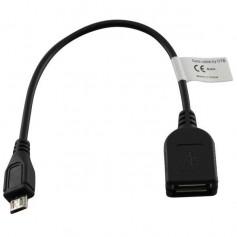 USB OTG (On The Go) Micro USB Cable 15cm YPU731