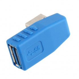 NedRo, USB 3.0 Type A Adapter Male to Female Left Angled AL661, USB adapters, AL661